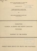 Marketing Florida, Alabama and North Carolina potatoes
