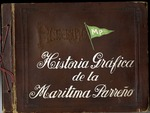 Scrapbook documenting the development of the Maritima Parreño port facilities in Santiago de Cuba during the 1920s and 1930s.