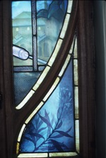 Stained glass window (detail)