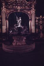Fountain of Amphitrite at night