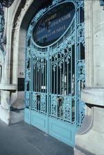 Exterior door of Chamber of Commerce building