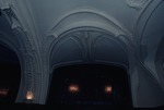 Interior room with arches