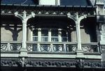 Façade of building