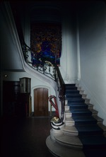 Stairs in the interior of a house