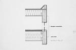 Goodloe Residence (William N. Morgan, FAIA) - Wall Section presentation drawing