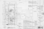 Dickinson Residence (William N. Morgan, FAIA) - First Floor Plan; graphite on vellum