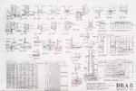 Dickinson Residence (William N. Morgan, FAIA) - Kitchen Details & Elevations; graphite on vellum