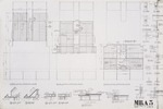 Framing Plans;Graphite on vellum