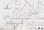 Framing Plans;Graphite on vellum