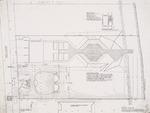 Site plan; graphite on vellum