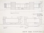 Construction Document: North, south and west elevation; Graphite on vellum