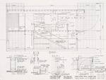 Construction Document: Wall sections; Graphite on vellum