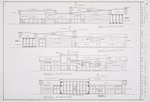 Exterior Elevations; Graphite and ink on vellum