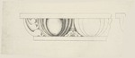 Detail drawing of crown molding