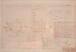 Social Hall Floor Plan. Floor Framing Plan & Details. Revisions 18 October 1965.