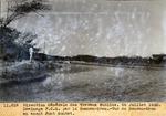 Drainage P.C.S.Vue amont du pont Montet