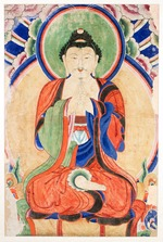 Seated Buddha (Amida)