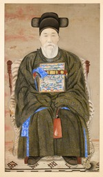 Portrait of a Seated Military Official