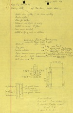 Ximenez-Fatio House - Field Notes November 29, 1975 (3 pages)