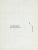 Ximenez-Fatio House - Molding Details & Plans March 17, 1976 (8 pages)