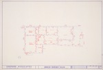 DeMesa-Sanchez House - Unidentified Drawing #2 showing first floor plan