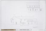 DeMesa-Sanchez House - Exterior Elevations; West Elevation (St. George St.); South Elevation