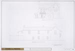 DeMesa-Sanchez House - Exterior Elevations; East Elevation; North Elevation
