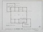 1580 Wooden Fort - Preliminary Study; Second Floor Plan