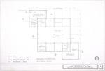 1580 Wooden Fort Reconstruction - Second Floor Plan