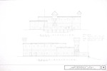 1580 Wooden Fort Reconstruction - East Elevation; South Elevation