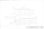 1580 Wooden Fort Reconstruction - West Elevation; North Elevation