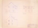 Villalonga House - South Elevation; East Elevation; North Elevation