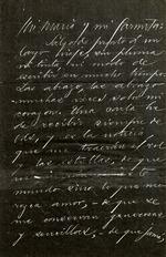 Photocopies of Letters from Jose Marti to Maria Mantilla de Romero, personal nature.