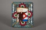 1 memorabilia of Jose Marti, framed.