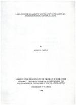 Laser-induced breakdown spectroscopy