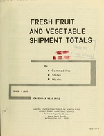 Fresh fruit and vegetable shipments by commodities, states and months
