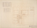 "Floor Plan - Hall Enterprises Spec House ""F R"" (Robert C. Broward, Architect, Job #5702)"