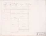 "Foundation Plan - Hall Enterprises Spec House ""F Alternate No. 1"" (Robert C. Broward, Architect, Job #5702)"