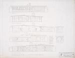 "Exterior Elevations - Hall Enterprises Spec House ""F Alternate No. 1"" (Robert C. Broward, Architect, Job #5702)"