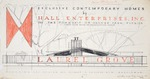 Promotional material for Laurel Grove development - Hall Enterprises (Robert C. Broward, Architect, Job #5702)
