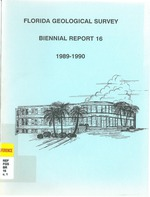 Florida Geological Survey Biennial Report 16 1989-1990