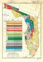 Surface occurrences of geologic formations in Florida