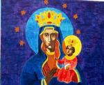 Mural of Ezili Danto
