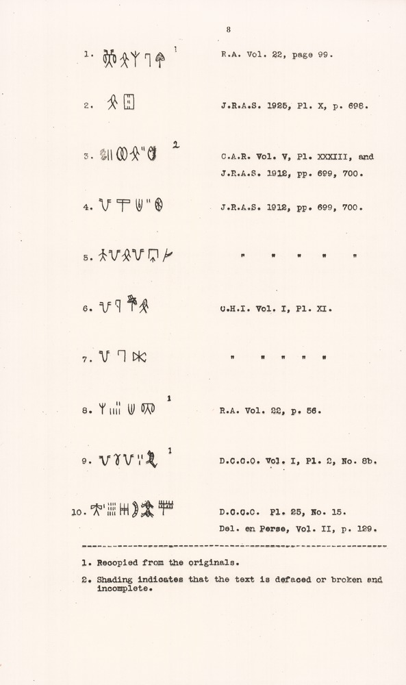 The script of Harappa and Mohenjodaro and its connection with other scripts - Page 8