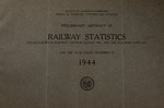 Preliminary abstract of railway statistics (steam railways, express companies, and the Pullman Company) for the year ended December 31 ..