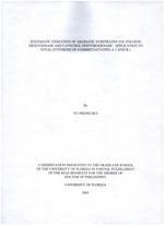 Enzymatic oxidation of aromatic substrates via toluene Dioxygenase and catechol dehydrogenase