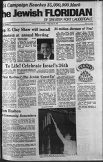 The Jewish Floridian of greater Ft. Lauderdale