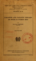 Parasites and parasitic diseases of swine in Puerto Rico
