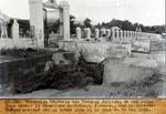 Sur le Bois-de-Chenes obstrue par un arbre de la crue du 29 Mai 1931