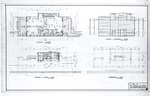 Jenkins Residence, Park Avenue, Coconut Grove (Alfred Browning Parker, Architect) - floor plans, foundation plan, framing plan.